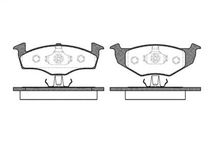 260900 ROADHOUSE Комплект тормозных колодок, дисковый тормоз