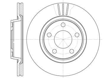 654810 ROADHOUSE Тормозной диск
