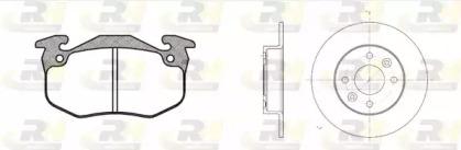 814401 ROADHOUSE Комплект тормозов, дисковый тормозной механизм