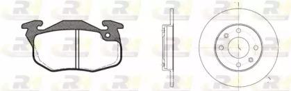 819203 ROADHOUSE Комплект тормозов, дисковый тормозной механизм