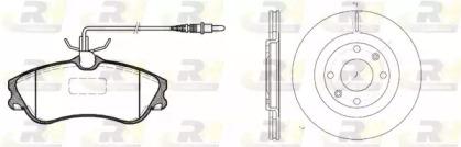 863400 ROADHOUSE Комплект тормозов, дисковый тормозной механизм