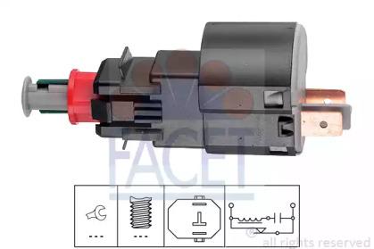 71162 FACET Выключатель фонаря сигнала торможения
