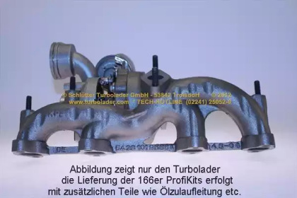 PRO-08320 D SCHLГњTTER TURBOLADER
