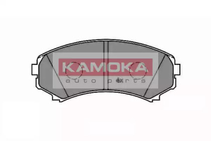 JQ1012884 KAMOKA Комплект тормозных колодок, дисковый тормоз