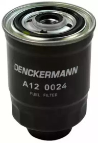 A120024 DENCKERMANN Фільтр паливний Hyunday 2.5d/td/Mazda 323/Mitsubishi Colt