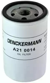 A210014 DENCKERMANN Фільтр масляний Ford Fiesta/Focus/Mondeo 1.25-2.0 90- Volvo C30/S40/V50 1.6 01/05-/Mazda 2 1.25 03-