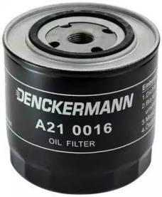 A210016 DENCKERMANN Фільтр масла Audi 100 2,0TD/2,4D 8/89-2,5TDI -11/90