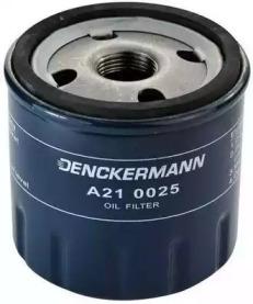 A210025 DENCKERMANN Фiльтр масляний Fiat Brava/Bravo 1.4S,1.4I 12V,1.6I 16V,1.8I G