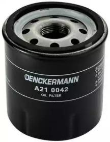 A210042 DENCKERMANN Фільтр масла Renault Clio II 1.2i 4/98-, Kangoo 1.2i 9/97-