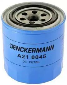 A210045 DENCKERMANN Фільтр масла Nissan Bluebird 2.0 D,TD -9/87, Primera