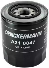 A210047 DENCKERMANN Фiльтр масляний Mitsubishi Colt 1.8 2/86-, Galant 2.0TD