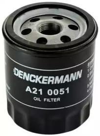 A210051 DENCKERMANN Фільтр масла Skoda Fabia 1.0,1.4 99- /VW Lupo 1.0