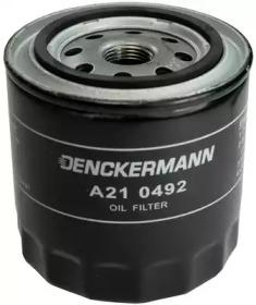 A210492 DENCKERMANN Фільтр масляний Nissan Almera/Primera/X-Trial 2.2 DI/dCi 04/03-
