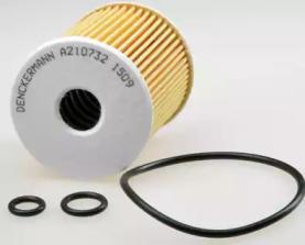 A210732 DENCKERMANN Фільтр масляний Seat Ibiza/Scoda Fabia/VW Polo 09-