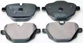 B111230 DENCKERMANN Гальмівні колодки дискові зад. BMW 5 (F10), 5 Touring (F11), X3 (F25), Z4 (E89) 09 -