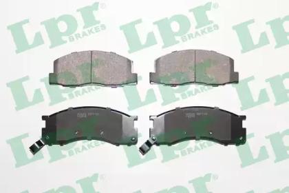 05P1126 LPR Комплект тормозных колодок, дисковый тормоз