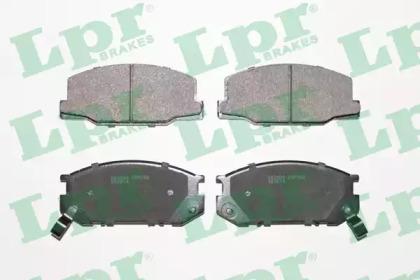 05P553 LPR Комплект тормозных колодок, дисковый тормоз