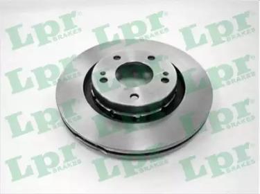 Тормозной диск LPR M1012V для авто CITROËN, MITSUBISHI, PEUGEOT с доставкой