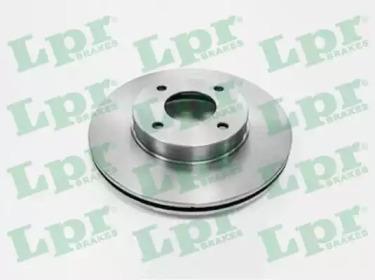 Диск Тормозной Nissan Almera (N16E) 0006Primera (P11E) 9602 Передний Вент. LPR N2812V для авто NISSAN с доставкой