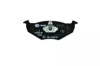 8DB355007911 HELLA Комплект тормозных колодок, дисковый тормоз -2