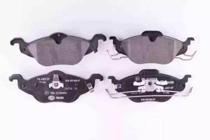 8DB355008571 HELLA Комплект тормозных колодок, дисковый тормоз -1