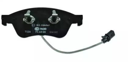 8DB355009211 HELLA Комплект тормозных колодок, дисковый тормоз -2