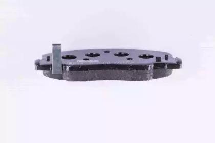 8DB355009481 HELLA Комплект тормозных колодок, дисковый тормоз -3