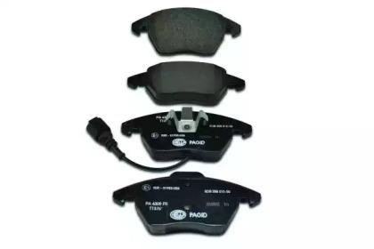8DB355010581 HELLA Комплект тормозных колодок, дисковый тормоз -1