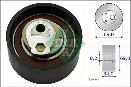 Ролик INA INA 531050510 для авто FIAT, IVECO с доставкой-1