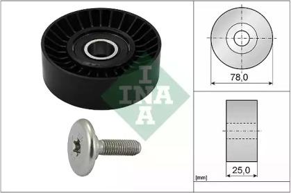Ролик INA INA 532043910 для авто CITROËN, FIAT, LANCIA, PEUGEOT с доставкой-1