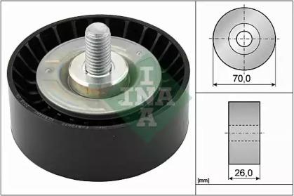 Ролик INA INA 532047510 для авто BMW с доставкой-1