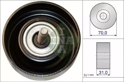 Ролик INA INA 532061410 для авто CHEVROLET, OPEL, SAAB с доставкой-1