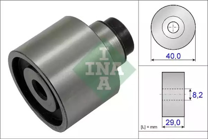 Ролик INA INA 532062310 для авто AUDI, SEAT, SKODA, VW с доставкой-1