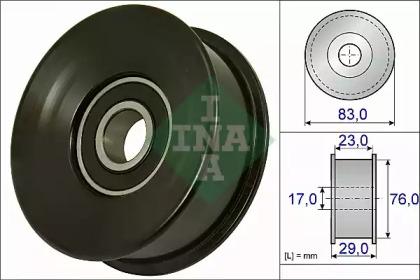 Паразитныйведущий Ролик, Поликлиновой INA 532073010 для авто LAND ROVER с доставкой-1