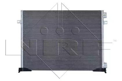 Радатор Кондицонера NRF 35482 для авто NISSAN, OPEL, RENAULT с доставкой-4