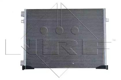 Радатор Кондицонера NRF 35482 для авто NISSAN, OPEL, RENAULT с доставкой-5