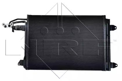Конденсатор, кондиционер NRF 35520 для авто AUDI, SEAT, SKODA, VW с доставкой-5