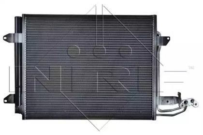 Nrf 35521_Радиатор Кондиционера ! Vw Caddytouran 1.4-2.01.9Tdi 04 NRF 35521 для авто VW с доставкой-4