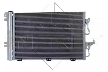 Радиатор кондиционера EASY FIT NRF 35555 для авто OPEL с доставкой-7