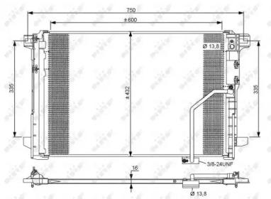 Конденсатор NRF 35793 для авто MERCEDES-BENZ с доставкой-3