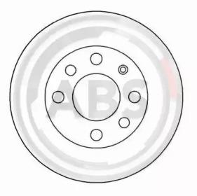 15770 A.B.S. Тормозной диск -1