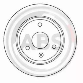 15839 A.B.S. Тормозной диск -1