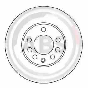 Тормозной диск A.B.S. 16486 для авто  с доставкой