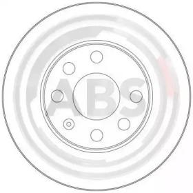 17362 A.B.S. Тормозной диск -1