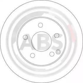 тормозной диск A.B.S. 17400 для авто  с доставкой-1