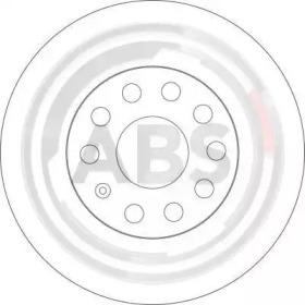 17521 A.B.S. Тормозной диск -1