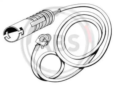 39535 A.B.S. Сигнализатор, износ тормозных колодок
