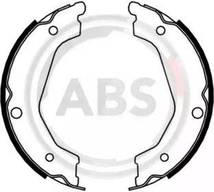 9196 A.B.S. Комплект тормозных колодок, стояночная тормозная система