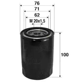 586012 VALEO Масляный фильтр