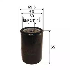 586054 VALEO Масляный фильтр